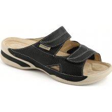 Medistyle zdravotní pantofle Lucy 5L-E16 H černá 0daf7a7cff