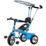 Baby Mix dětská šlapací tříkolka LUX se stříškou modrá