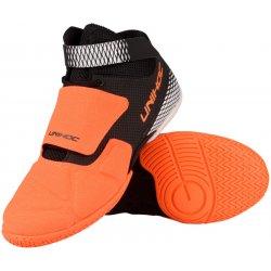 Skate boty Brankářské florbalové boty Unihoc U3 Goalie Neon orange   Black 4e37896821