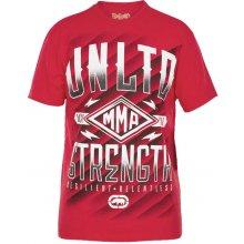 Ecko Unltd MMA Tričko Strength Red