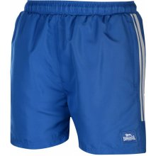 Lonsdale 2 Stripe Woven shorts Mens Blue/BrBlue