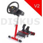 Wheel Stand Pro , stojan na volant a pedály pro Thrustmaster F458 SPIDER, T80/T100,F458/F430, červený
