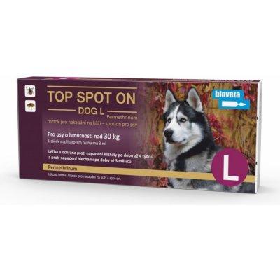 Bioveta Top Spot On Dog L nad 30kg 1x3ml