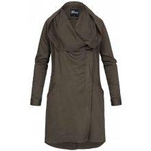 Hailys dámská jarní parka s kapucí Lucy khaki
