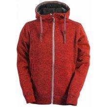 2117 FAGERHULT pánský svetr s kapucí red
