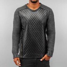 Bangastic Quilt Sweater Anthracite