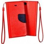 Pouzdro TELONE Fancy Diary Lenovo A7000 Červené