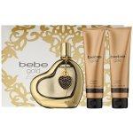 Bebe Perfumes Gold EdP 100 ml + tělové mléko 100 ml + sprchový gel 100 ml dárková sada