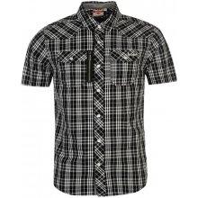 Lee Cooper Short Sleeve Check shirt Mens