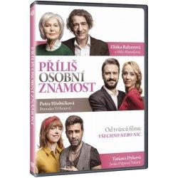 Příliš osobní známost DVD