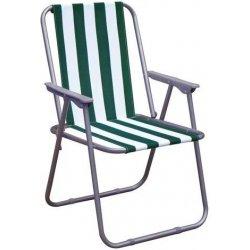 Zahradní židle a křeslo VETRO-PLUS HAPPY GREEN, skládací - zelené
