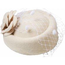 Collectif Dámský klobouček Jemina krémový