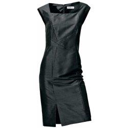 d92caa225ce9 Hedvábné elegantní a společenské pouzdrové šaty černá alternativy ...