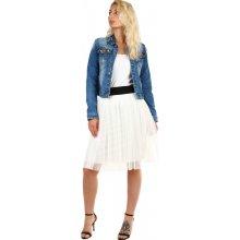 e34fcb96950 YooY dámská tylová midi sukně bílá