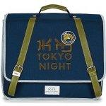 Ikks aktovky Backpacker in Tokyo Modrá