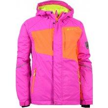 Alpine Pro Baudouino dětská lyžařská bunda KJCH051411 fuchsiová