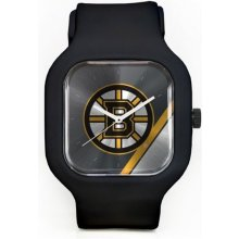 Old Time Hockey Boston Bruins Modify Watches Silicone
