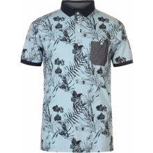 a7bcc109d Pierre Cardin Fade Polo Shirt Mens Light Blue