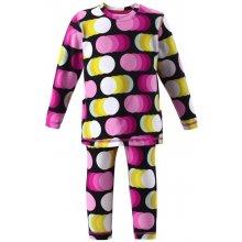 Dětská souprava funkčního prádla Reima Duha cherry