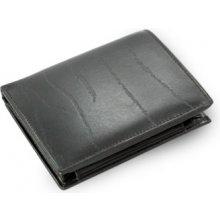 Arwel Pánská kožená peněženka a dokladovka 514 1610 se zápinkou černá