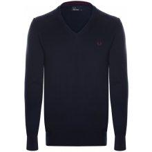 Fred Perry svetr z prémiové bavlny od Tmavě modrý