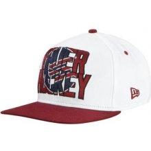 BAUER NE Oversized Logo 9Fifty Snapback Cap WHT