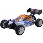 HiMOTO RC auto buggy Z-3 elektro RTR set 2,4GHz Brushless LCD 1:10 modrá