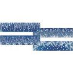 Adhézní folie pruh zimní glitry 333 rozměr 64x15 cm