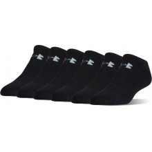 19c00fb37ec Under Armour Charged Cotton No Show Socks 6-Pack