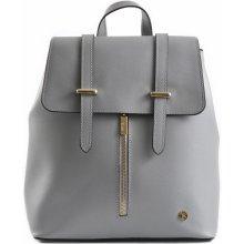 Bright Batoh kabelka dámská 2v1 kožený šedý d9bf0526927