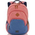 Travelite Basics Backpack Melange červená navy