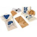 Legler Dřevěné hry Dřevěné hlavolamy set 4ks v pytlících