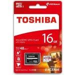 TOSHIBA microSDHC 16GB UHS-I U1 THN-M301R0160EA