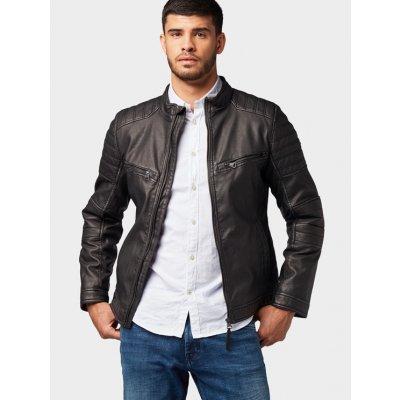 Tom Tailor pánská koženková bunda 1012096/29999 černá