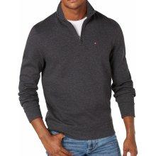 Tommy Hilfiger Pánský svetr se zipem 5858 tmavě šedý 359d0f1aa3