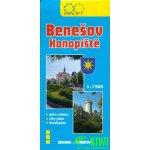 Benešov, Konopiště-plán města 1:7 500