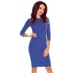 0b22879e1515 Bergamo dámské puntíkaté pouzdrové šaty 2725 modrá od 930 Kč ...