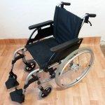 Recenze Breezy Unix2 Invalidní vozík šíře sedu 45 cm