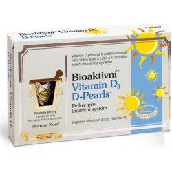 Pharma Nord Bioaktivní Vitamin D3 D Pearls 80 kapslí