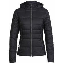ICEBREAKER Wmns Stratus X Hooded Jacket Black/Jet HTHR