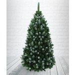 Borovice Gold zasněžená 180 cm - umělý vánoční stromek