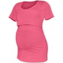 Jožánek Kateřina tričko pro snadné kojení KR lososově růžová