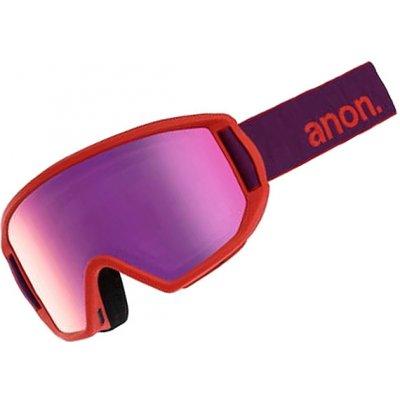 Anon RELAPSE JR MFI PURPLE/PINK AMBER dětské brýle na snowboard