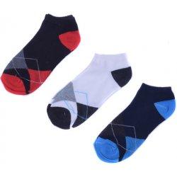 3bd64c538fe Rota pánské kotníkové ponožky barevné 3 páry set2 - Nejlepší Ceny.cz