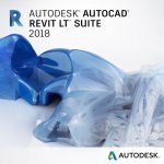 Autodesk Revit LT Suite 2017 Commercial New Single-user ELD Annual Subscription with Advanced Support - 834I1-WW8695-T548