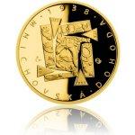 Česká mincovna Zlatá mince Převratné osmičky našich dějin 1938 Mnichovská dohoda proof 7,78 g