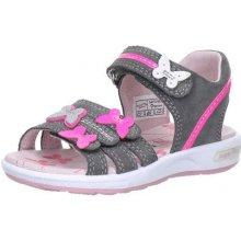b7f75948255 Superfit 6-00133-06 Dívčí sandály EMILY šedá