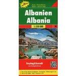 Albánie mapa 1:150 t.