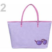 plážová taška fialová levandule Stoklasa