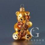 Medvídek s houslemi
